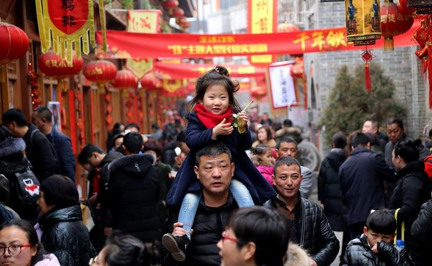 China gears up for upcoming New Year, Spring Festival holidays