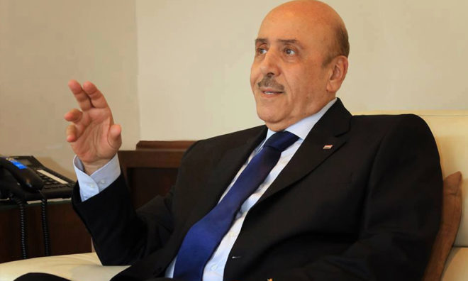 Syria's national security chief in Egypt