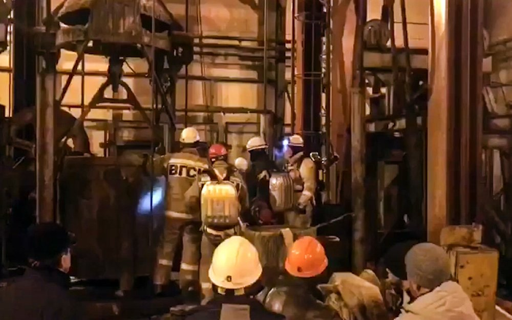 Russia: Criminal probe opened in mine fire that killed 9