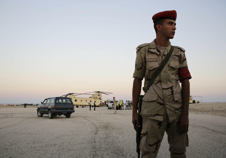 Egypt police kill 14 terrorists in Sinai shootout: ministry