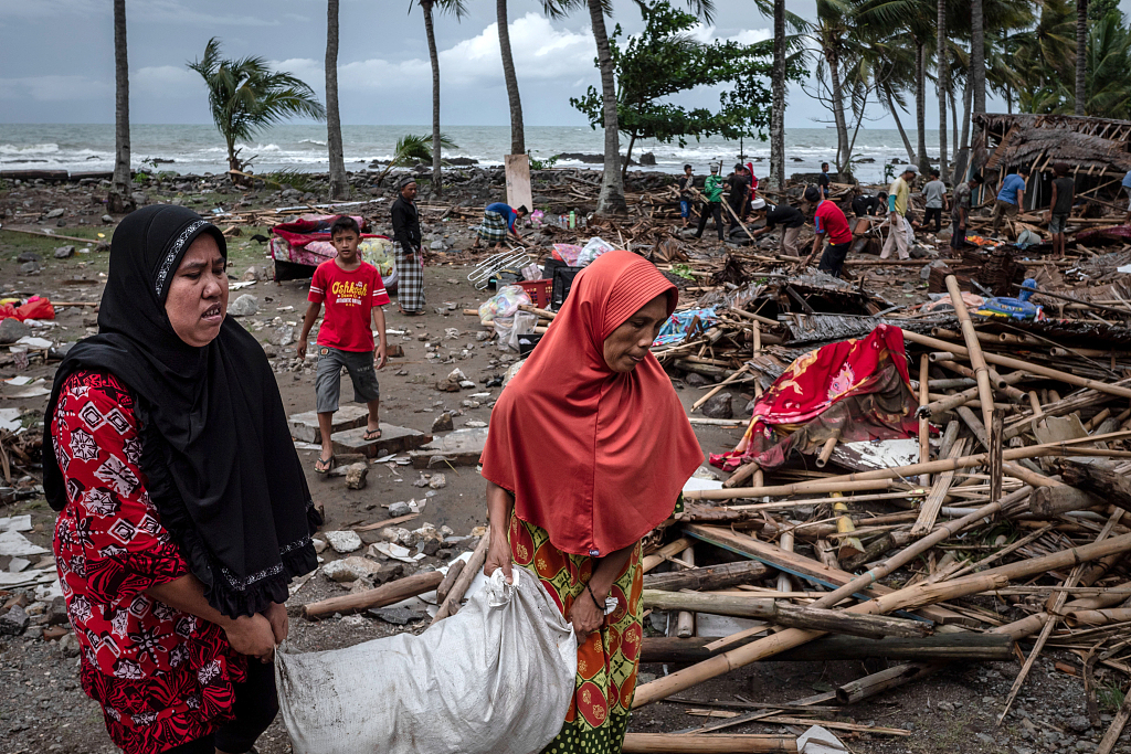 Death toll from volcano-triggered tsunami in Indonesia climbs to 373