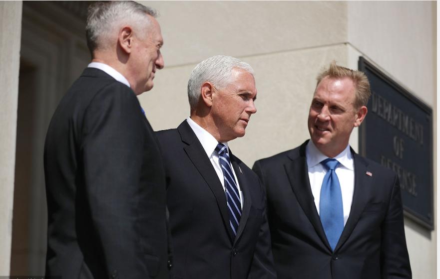 Trump to replace defense head Mattis January 1 with deputy Shanahan