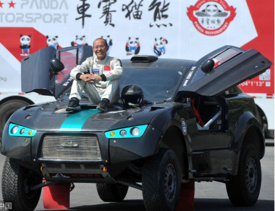 Chinese senior to challenge Dakar