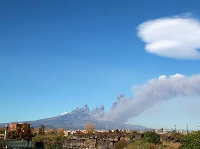 Italy's Mount Etna volcano erupts, prompting airport shutdown