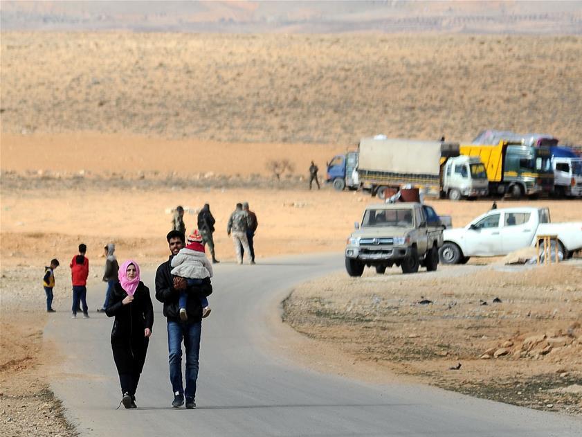 Over 1,000 Syrian refugees return home from Lebanon