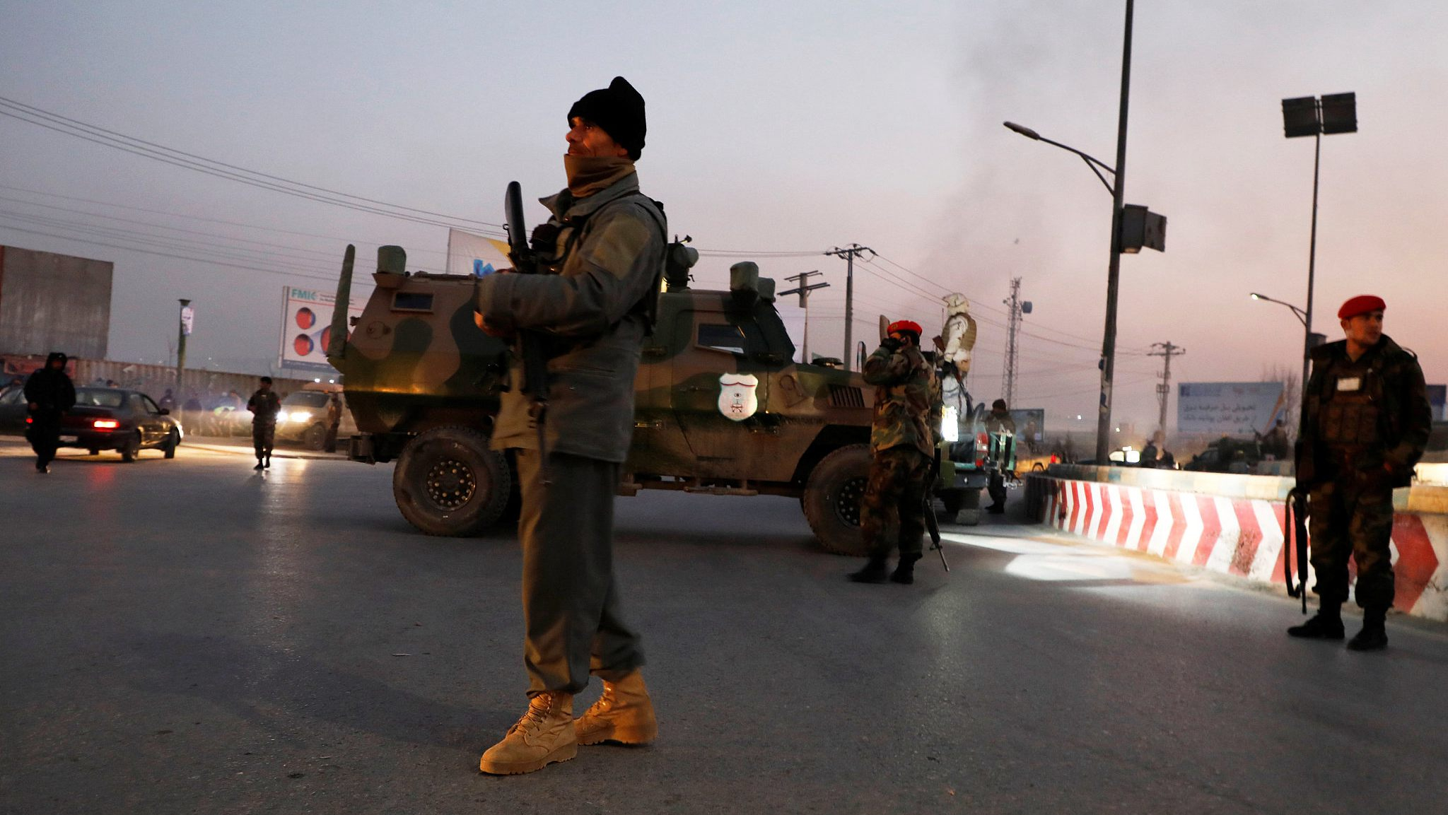 Death toll rises to 43 in attack on Kabul govt compound