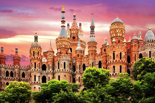 Wealthy Chinese build castles around country as exotic novelties