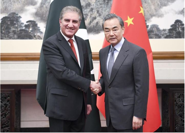 Chinese State Councilor meets Pakistani FM