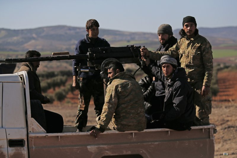 Turkey-backed rebels in Syria receive orders to brace for imminent military campaign