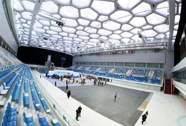 Water Cube to become an Ice Cube for Beijing winter games