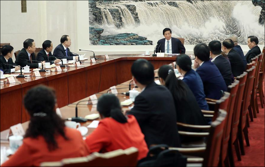 China's top legislator calls on lawmakers to better fulfill their duties