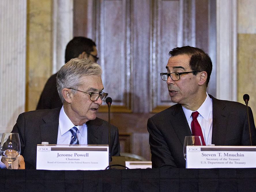 Jobs of Fed chair, treasury secretary '100 percent' safe: Trump adviser