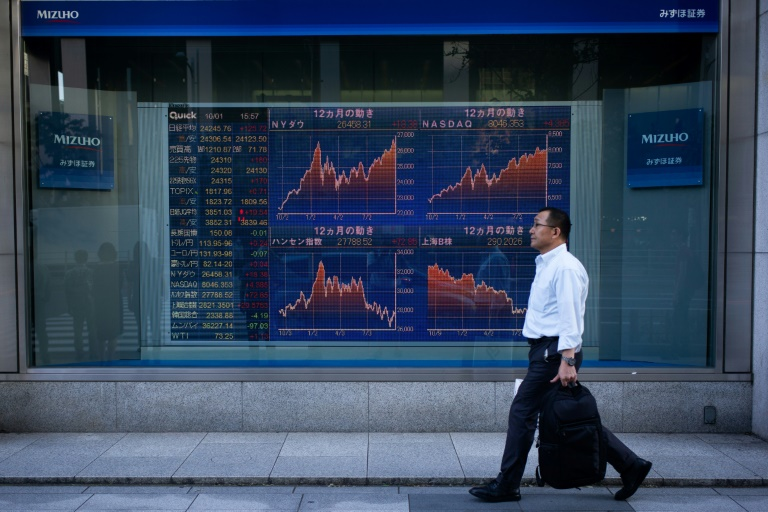 Asian markets climb after bumper US session