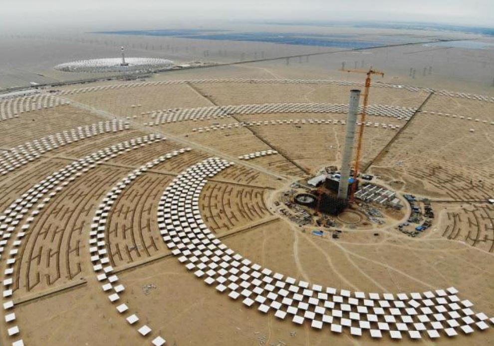 China's first 100-megawatt solar-thermal power plant comes online