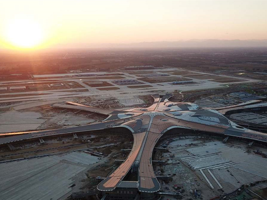 Beijing's new airport to be linked with railway, subway