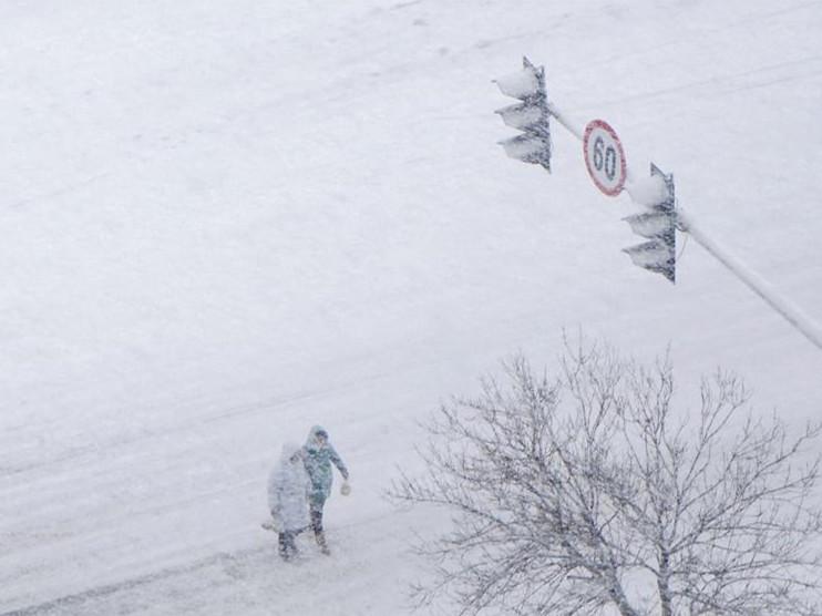 Snowfall scenery across China