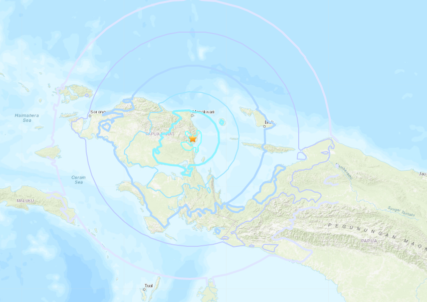 M6.1 earthquake strikes eastern Indonesia, no tsunami warning issued
