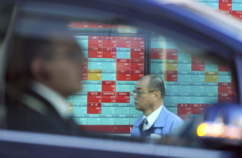 Global stocks gain after Wall Street rally, Japan falls