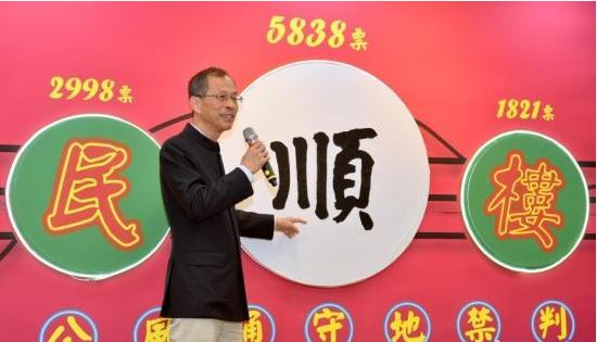 'Smooth' voted for Chinese character of year in Hong Kong