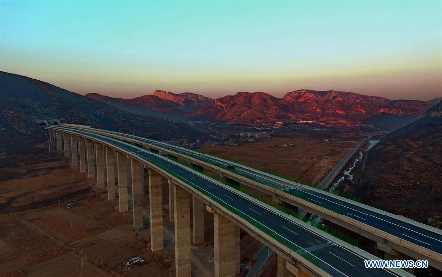 Taihang Mountain expressway starts operation