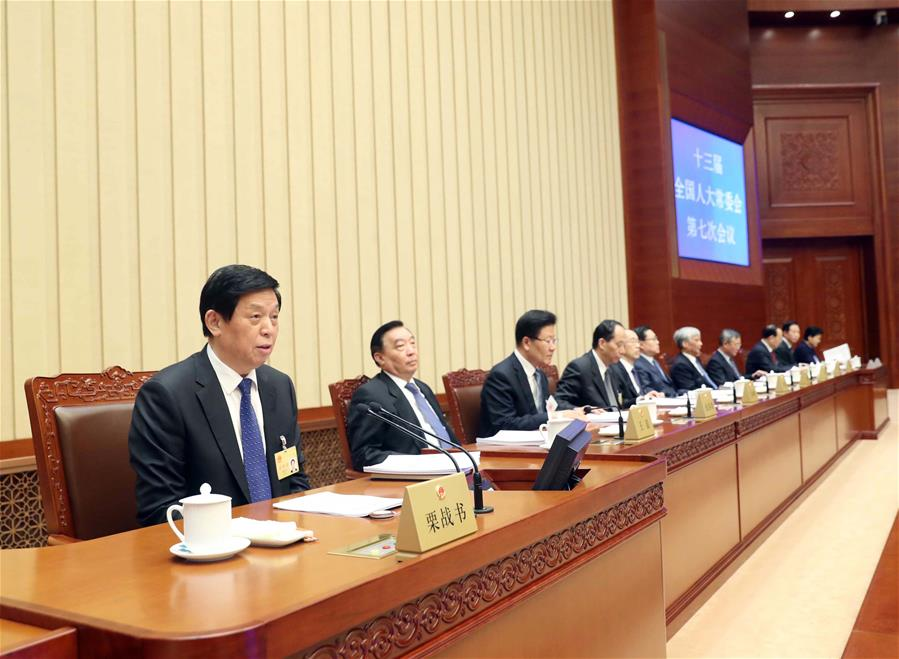 China's top legislature wraps up bimonthly session