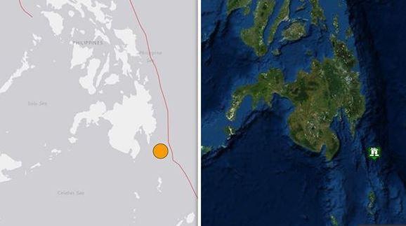 Strong quake off Philippines prompts panic, tsunami warning