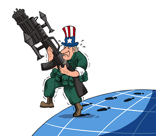 US may not stop policing the world