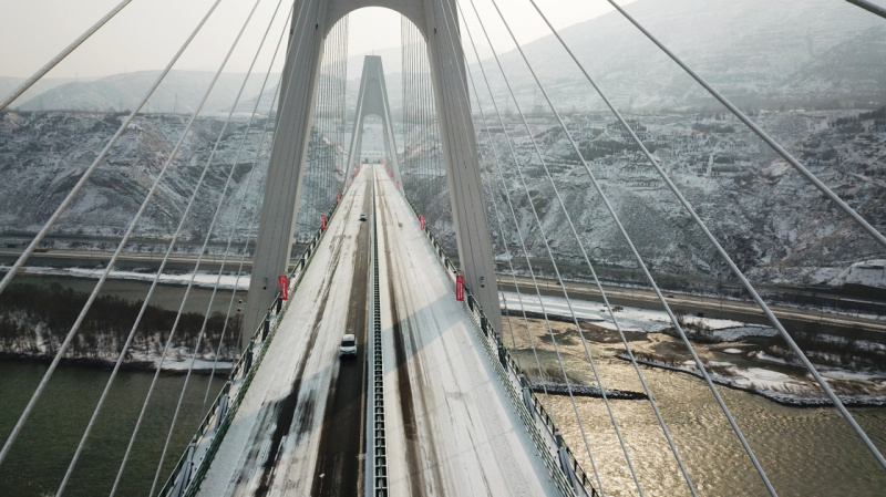Lanzhou's South Beltway opens to traffic