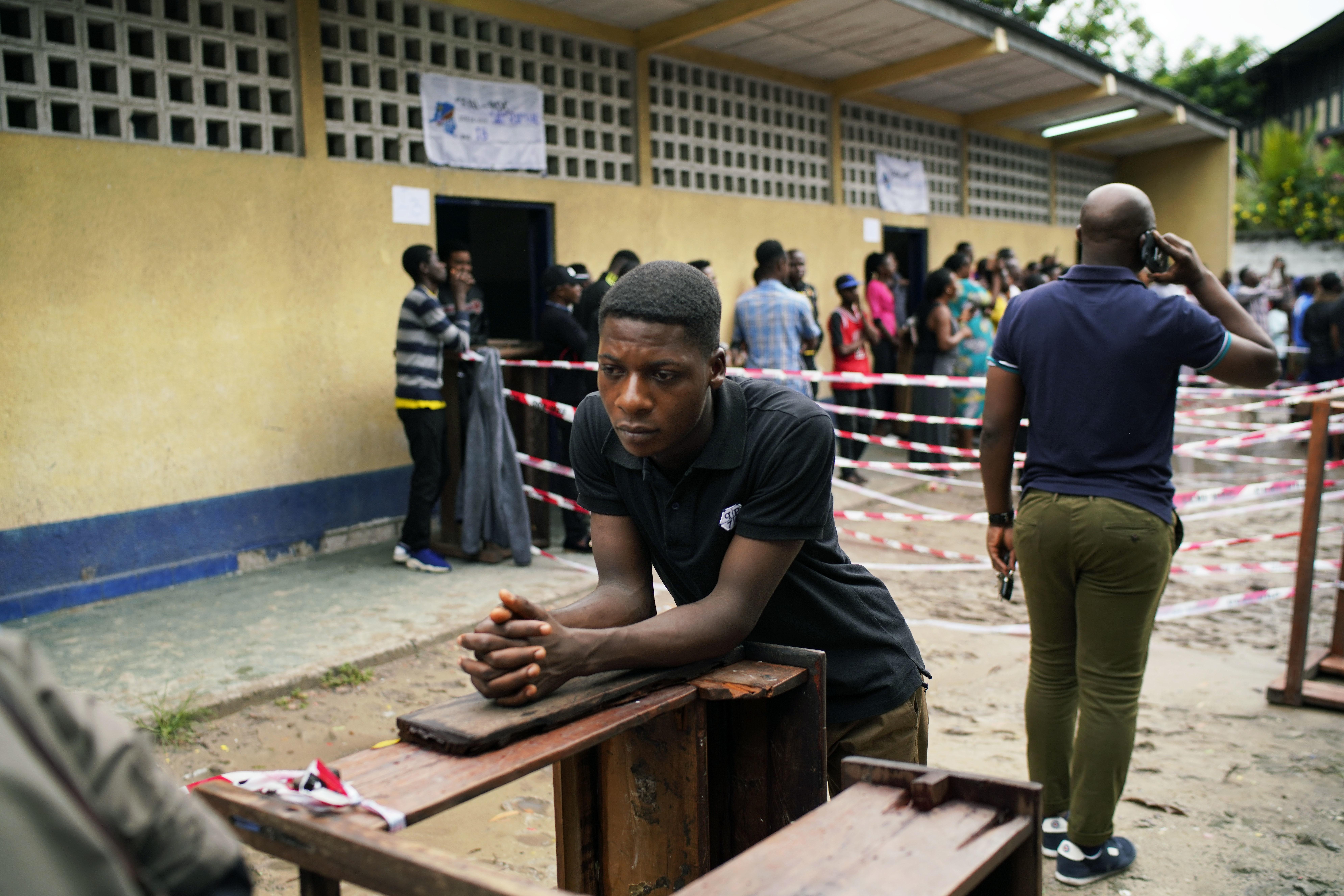 Presidential election kicks off in DR Congo