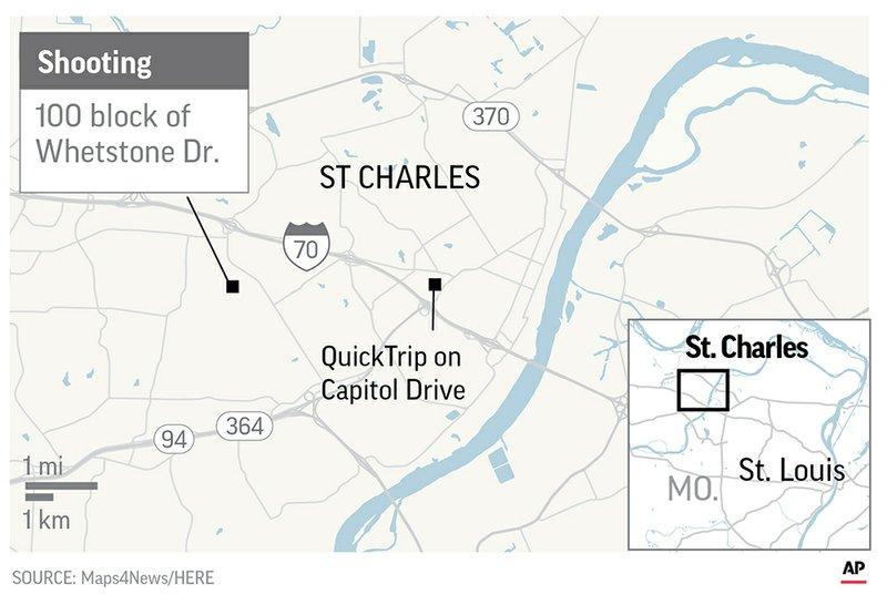 Missouri man fatally shoots girlfriend, her kids, her mother