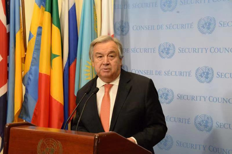 UN chief: 'reasons for hope' in a world still on 'red alert' in 2019
