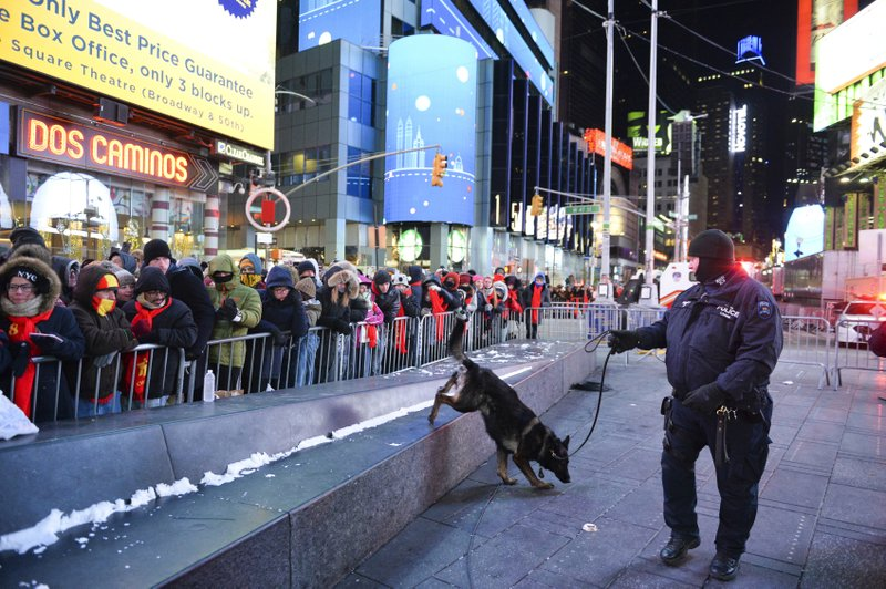 Ring in the New Year: NYPD drone to oversee Times Square revelry