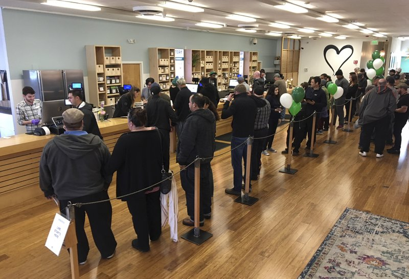 Year 1 a mixed bag for businesses in California's pot market