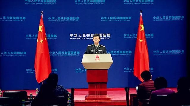 Witty press announcement by China's Defense Ministry goes viral