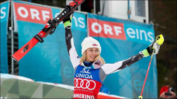 Mikaela Shiffrin breaks World Cup record with 36th slalom triumph