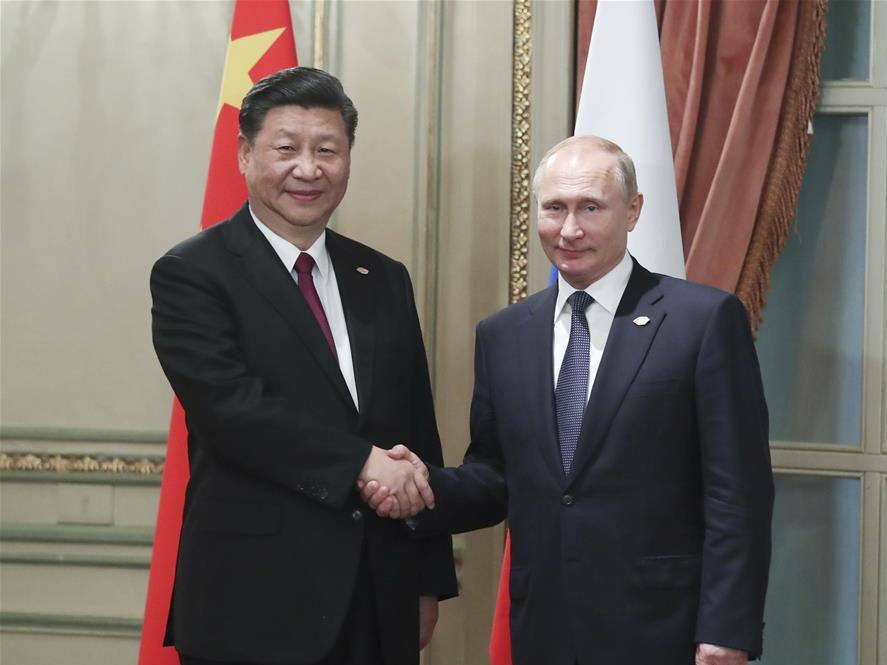 Chinese, Russian leaders exchange New Year greetings