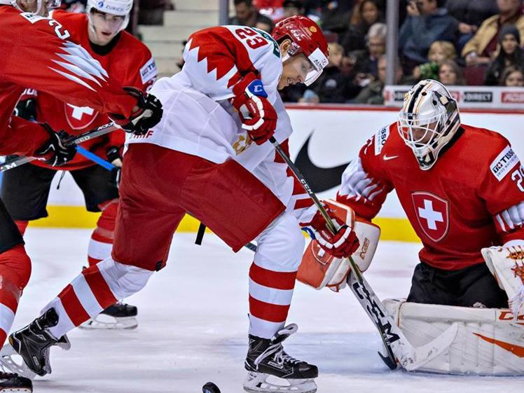 Russia beats Switzerland 7-4 at IIHF World Junior Championships
