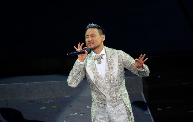 Chinese singer 'good luck charm' for Suzhou police
