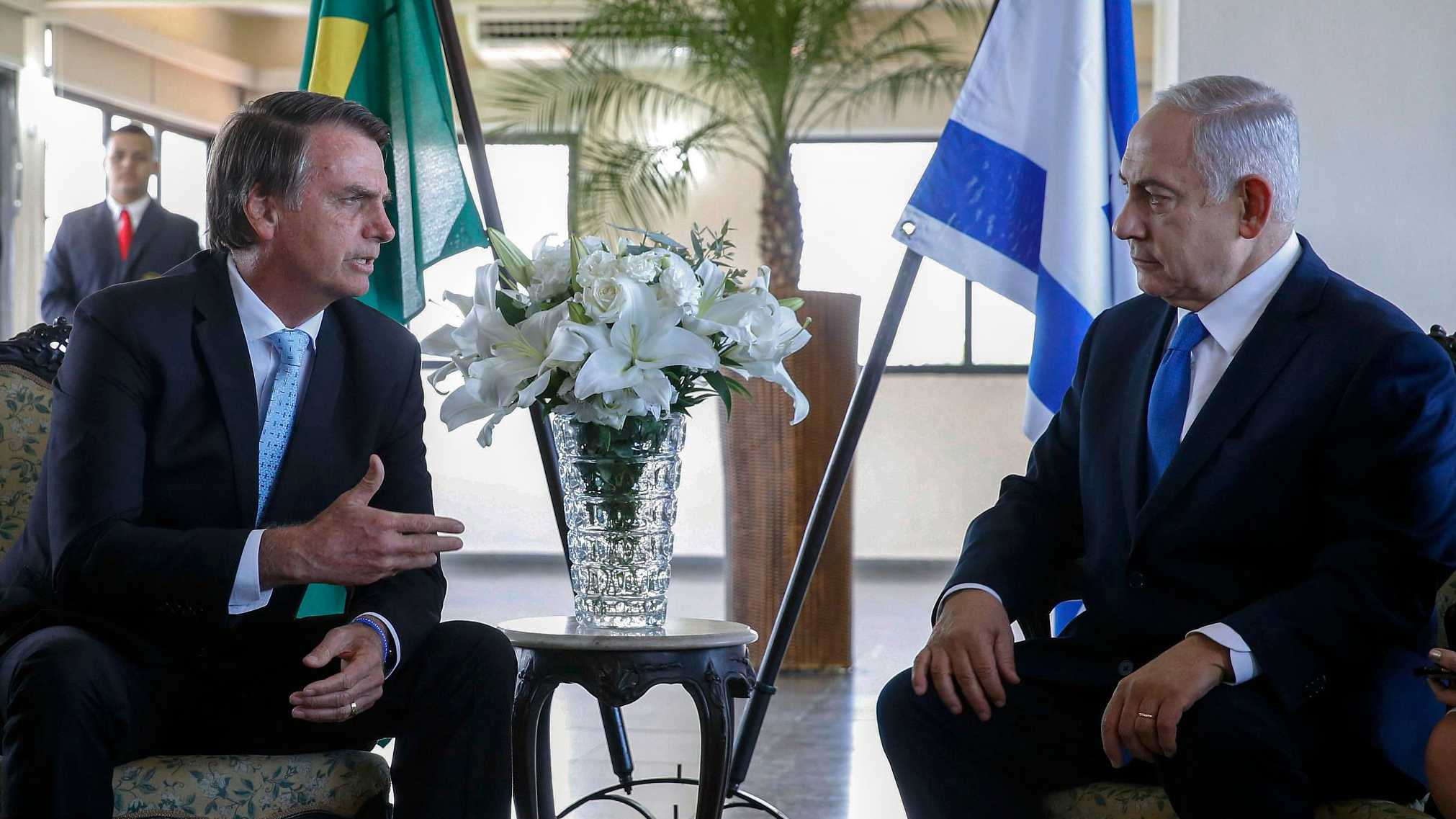 Brazil embassy move to Jerusalem a question of 'when' not 'if': Netanyahu
