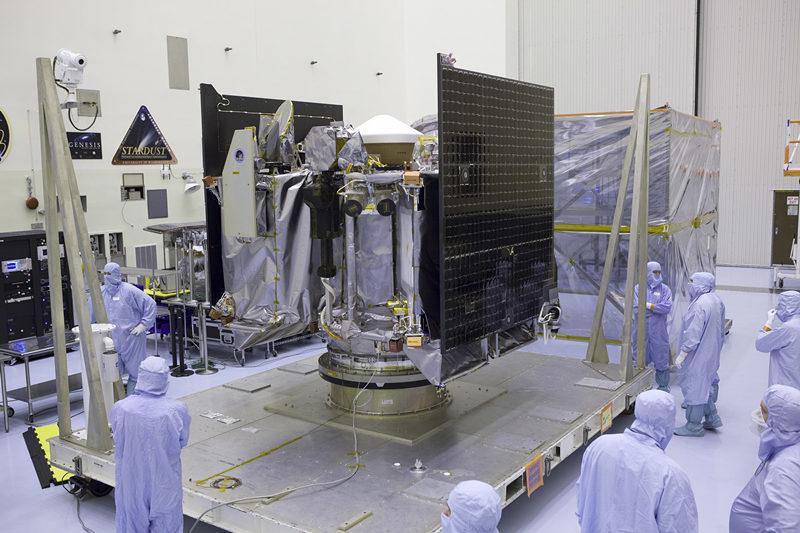 NASA spacecraft enters orbit around asteroid, sets records