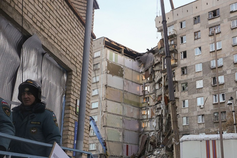 7 dead, dozens missing in Russia gas explosion
