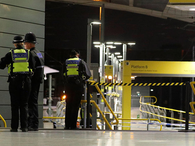 UK counter-terror police probe Manchester knife attack