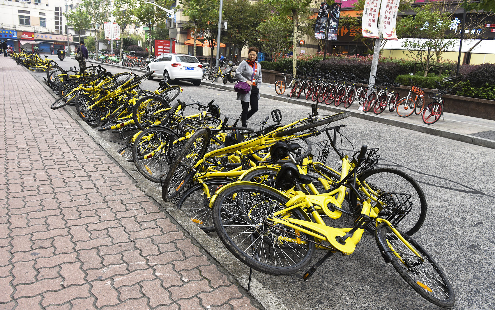 Ofo faces lawsuits from logistic companies