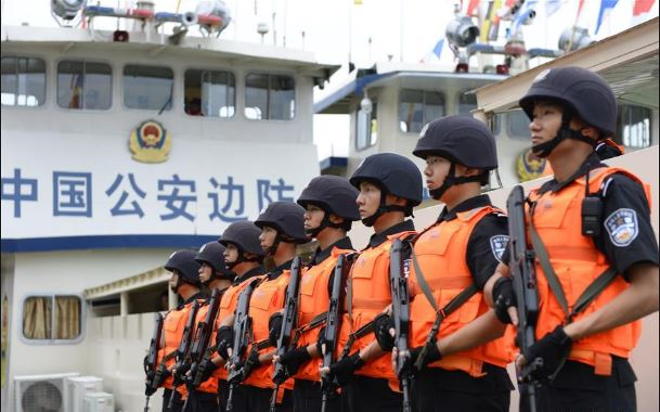 China's border police, police guards become people's police