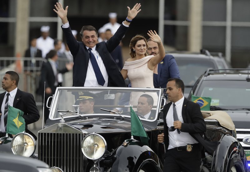 Brazil's Bolsonaro assumes presidency, promises big changes