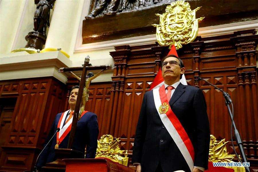 peru's President Martin Vizcarra xinhua.jpg