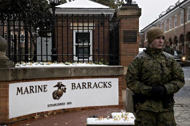 Marine from Minnesota shot to death at Washington barracks