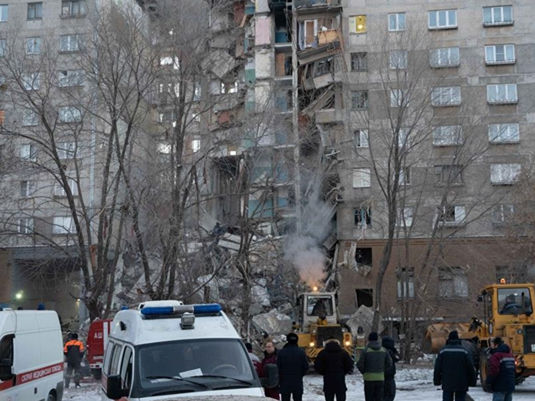 Death toll climbs to 31 in Russian gas blast
