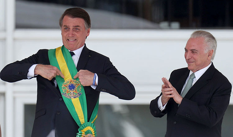 Chinese president's special envoy attends inauguration of Brazilian president