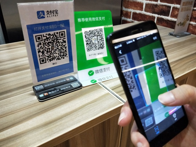 One-in-five people in China think digital payments will replace cash